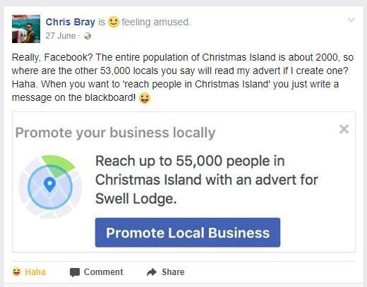 facebook ad fake audience